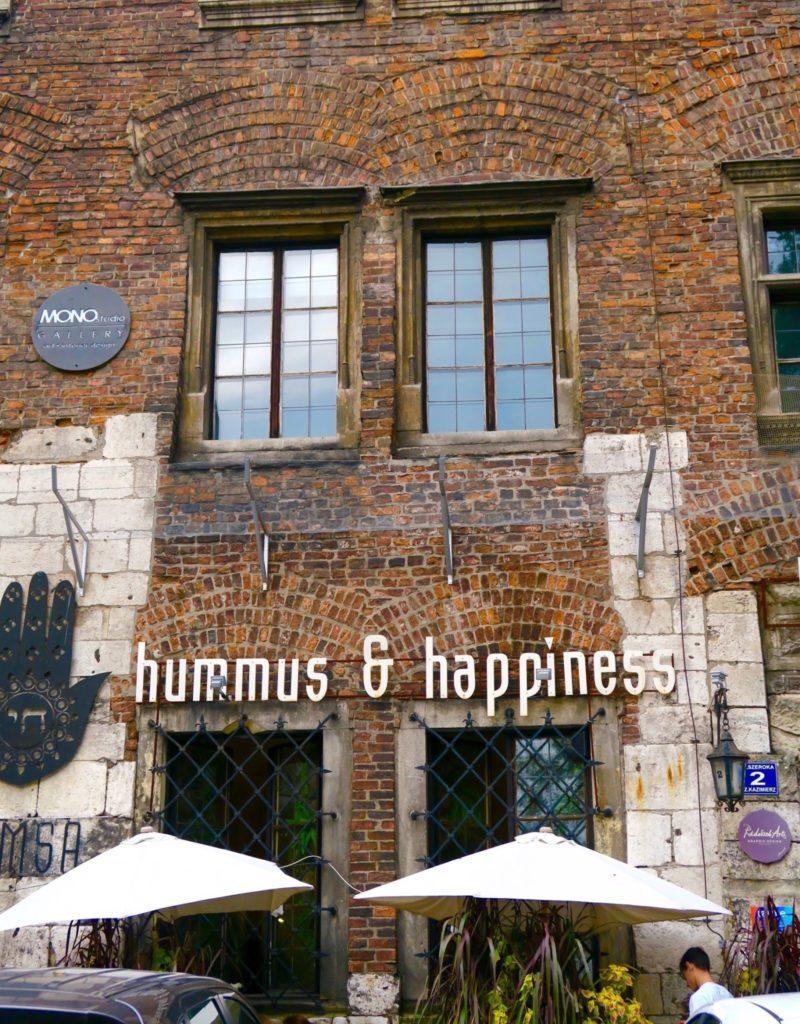 Hummus & Happiness in Kazimierz, Krakow
