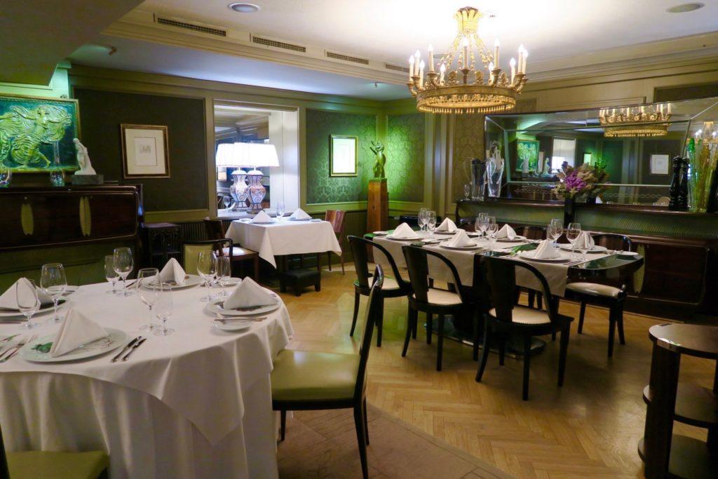CODA Restaurant, Aria Hotel Prague