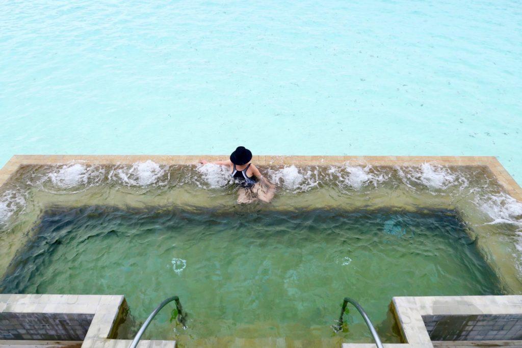 Plunge pool at Velassaru Maldives