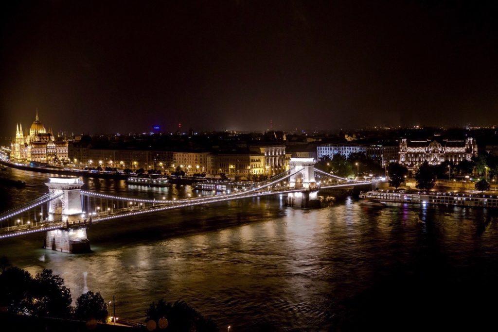 Szechenyi Bridge in Budapest