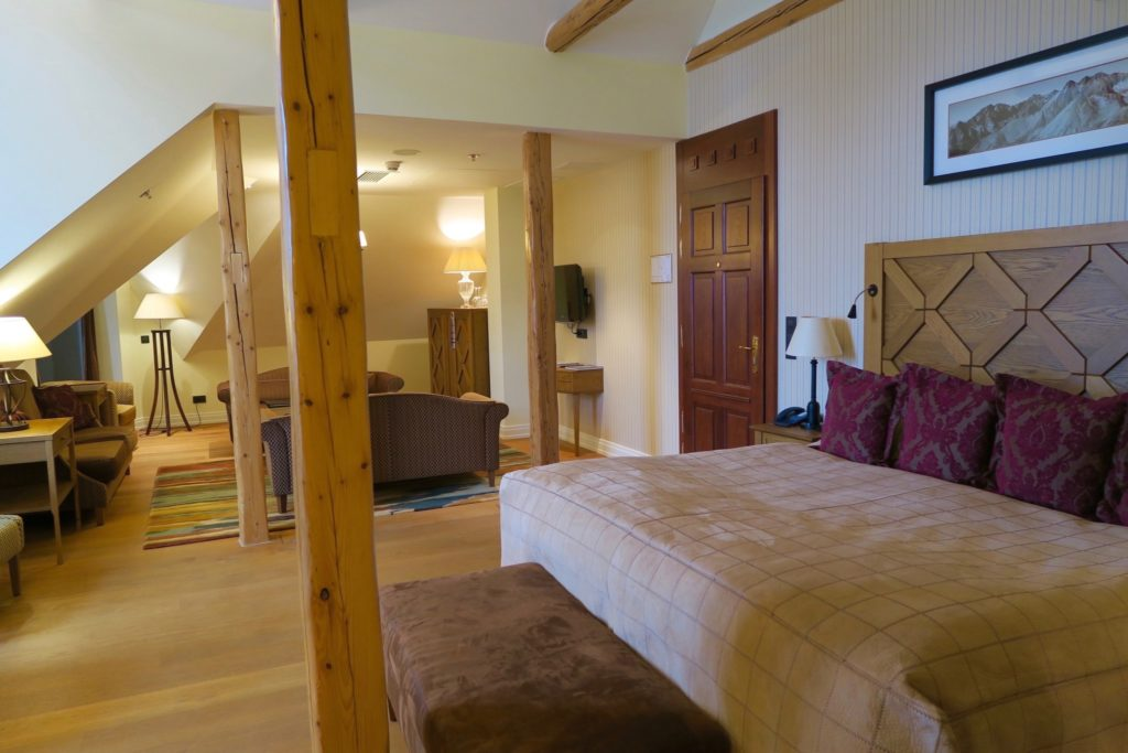 Deluxe Suite of Kempinski High Tatras