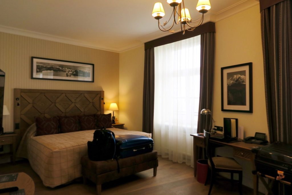 Junior Suite of the Kempinski High Tatras