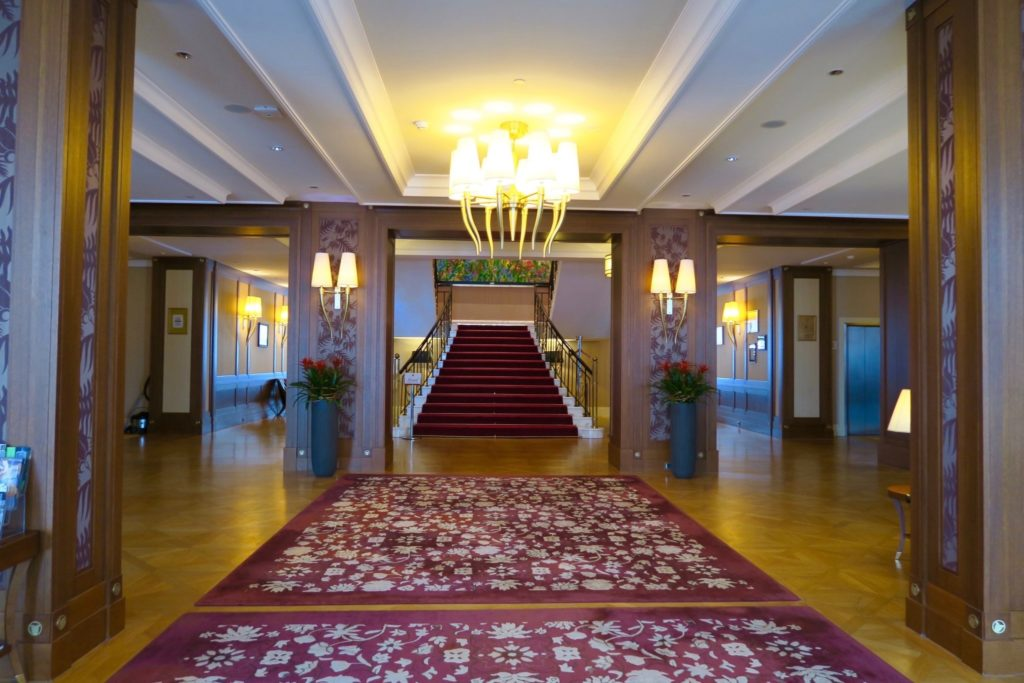 Lobby of Grand Hotel Kempinski High Tatras