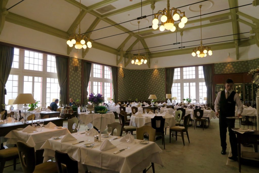 The Grand Restaurant at Kempinski Hotel High Tatras