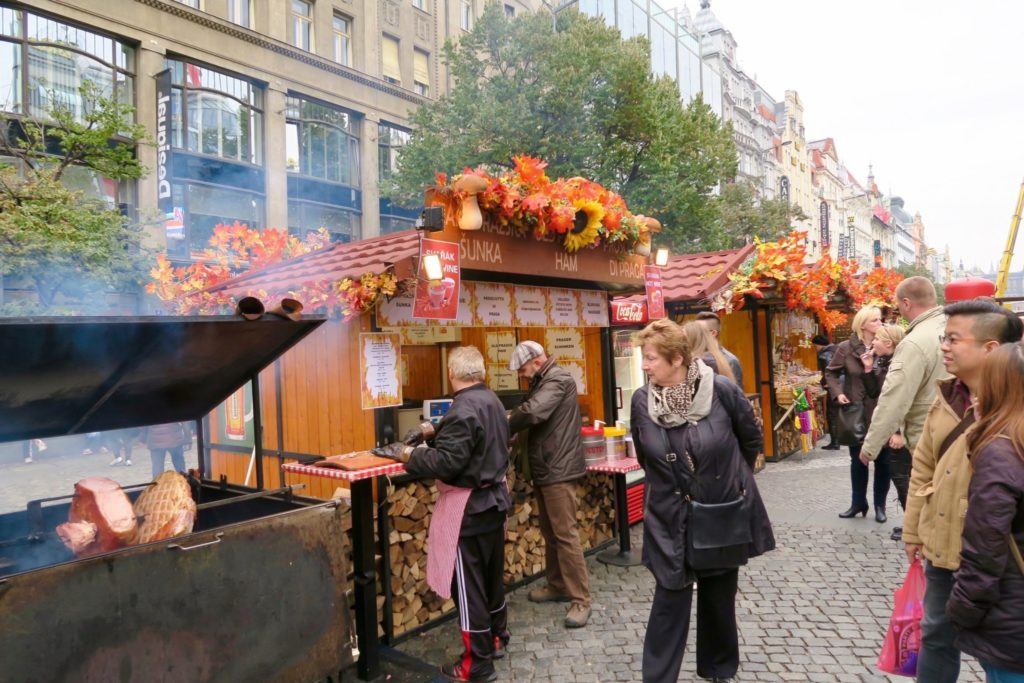 Food festival in Prague