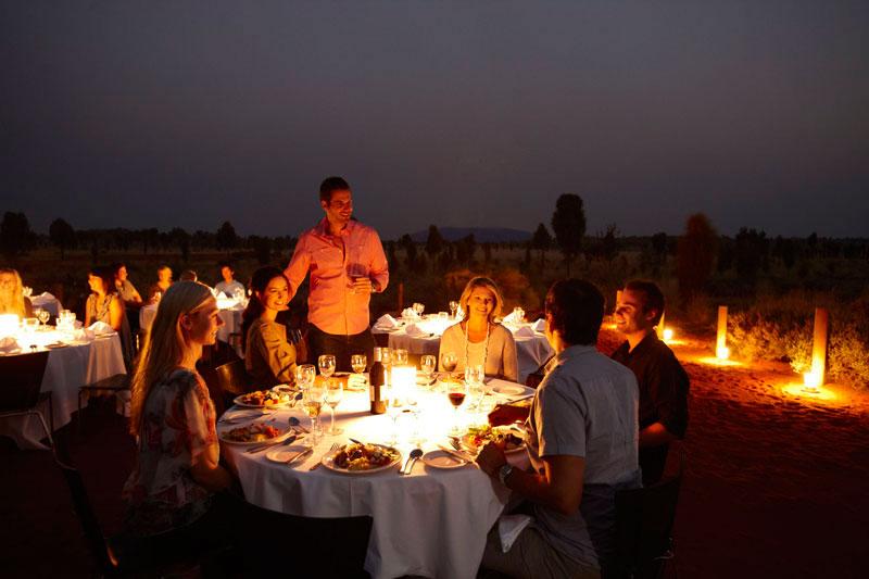 Sound of Silence Dinner in Uluru