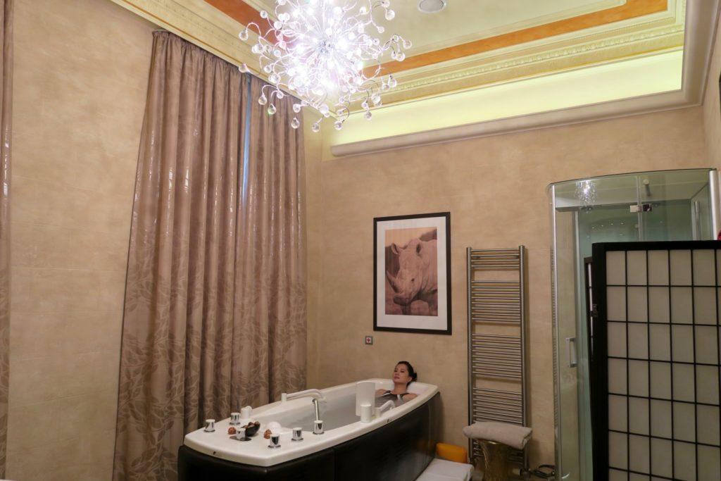 spa treatment at Quisisana Palace, Karlovy Vary