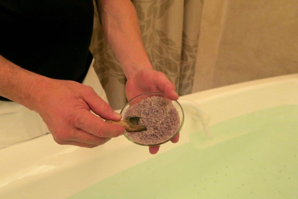 Quisisana Palace spa using natural salts from karlovy vary