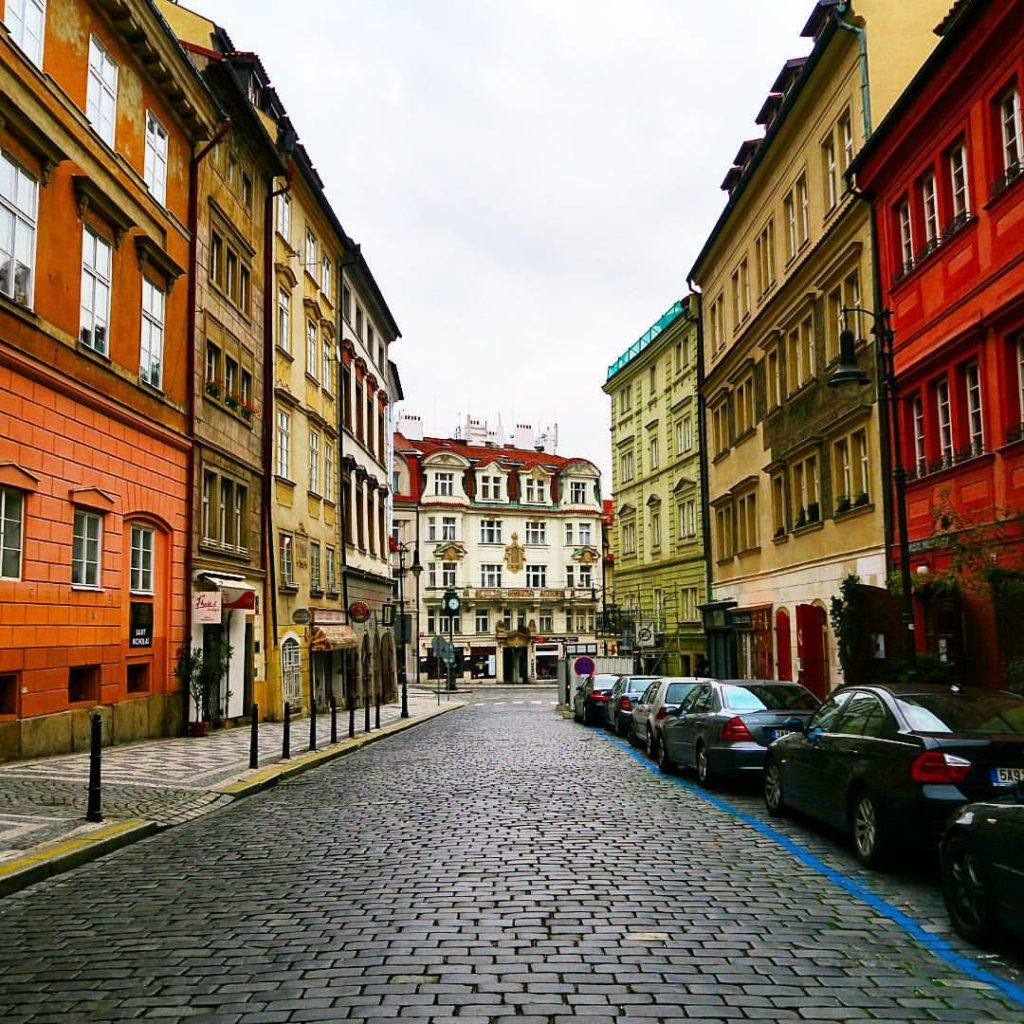 Prague is a city for walking