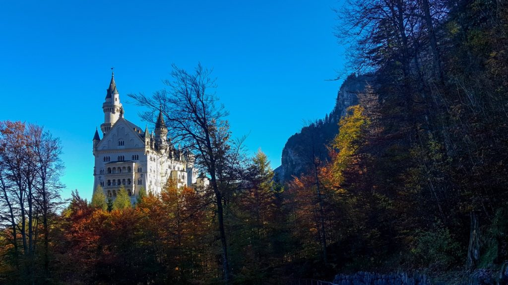 Neuschwanstein Castle in Munich. (aka the Disney Castle)