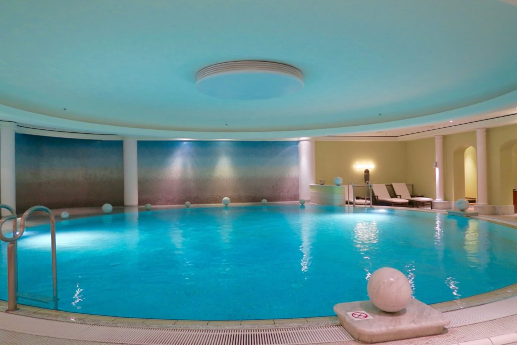 Indoor pool at the spa. Westin Grand Berlin