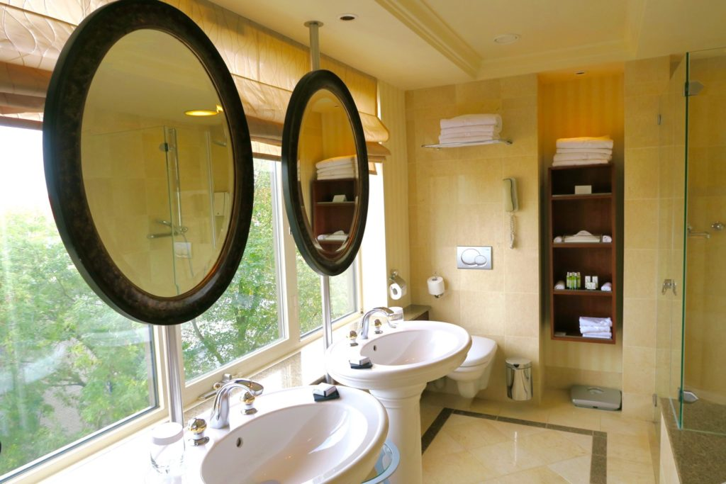 Bathroom of the Executive Room, Hotel Okura Amsterdam