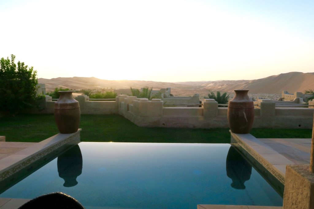 Private pool on a one bedroom villa, Qasr al Sarab by Anantara