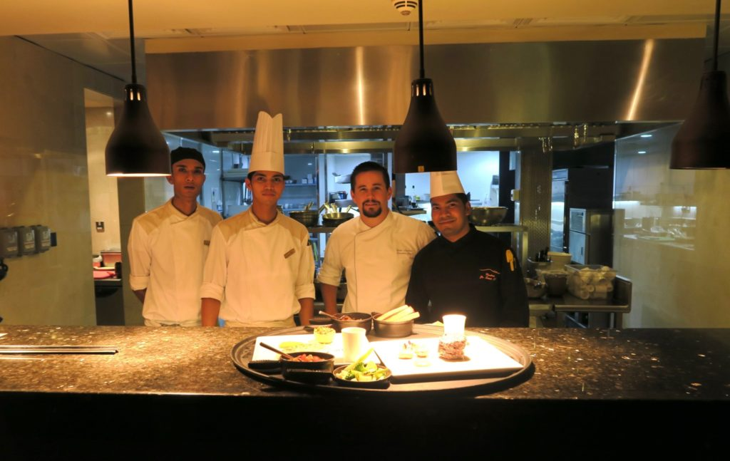 The Chefs and staff of Suhail. Qasr Al Sarab by Anantara