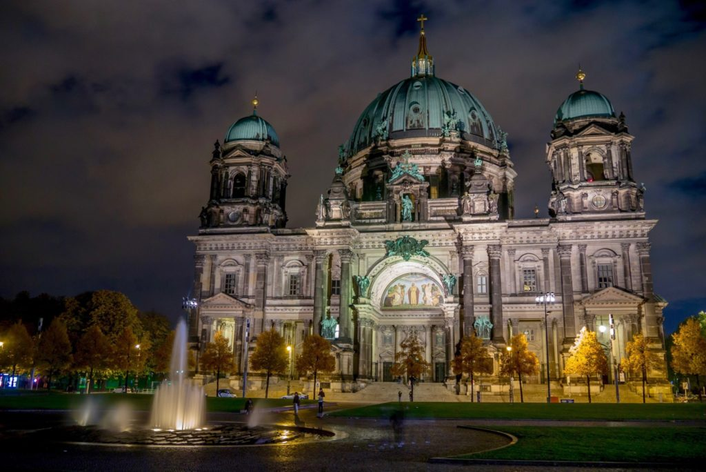 Our night shot of Berliner Dom