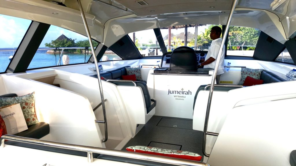 the new Jumeirah Vittaveli motorised catamaran