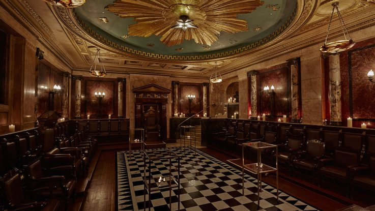 the Masonic temple at Andaz London Liverpool