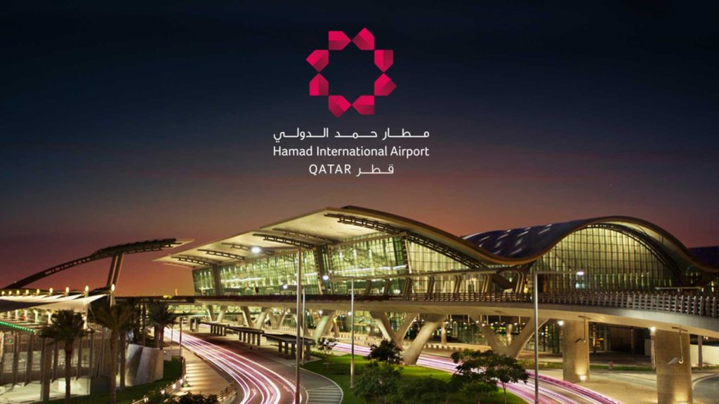 Hamad International Airport in Doha, Oman