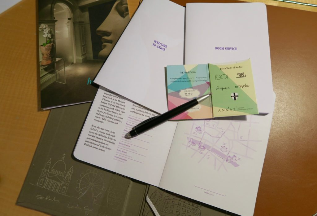 personalised city guide and map, Andaz Liverpool