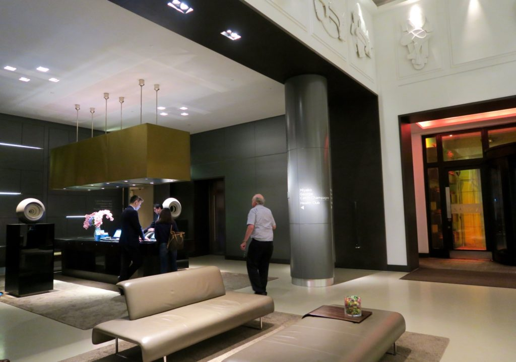 lobby of Andaz London Liverpool Street