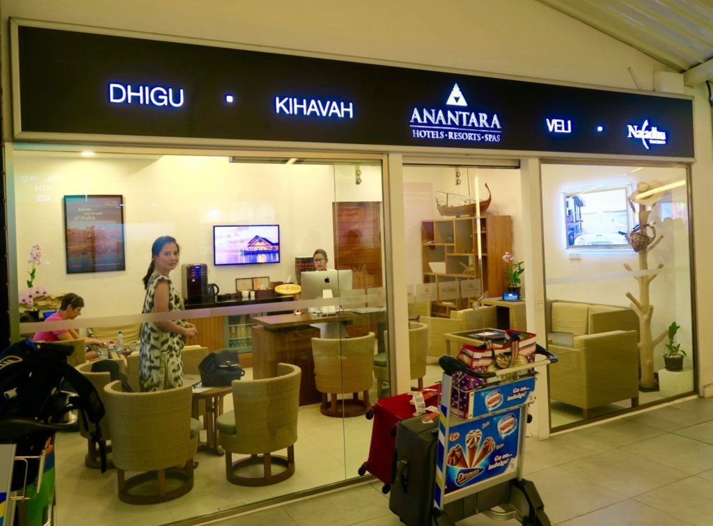Anantara Airport Lounge in Male Ibrahim Nasir Airport