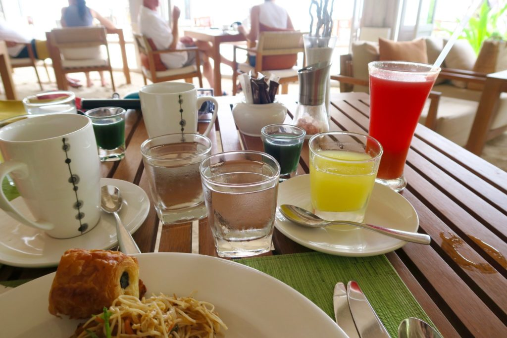 73 Degrees Restaurant for Breakfast, Anantara Veli Maldives