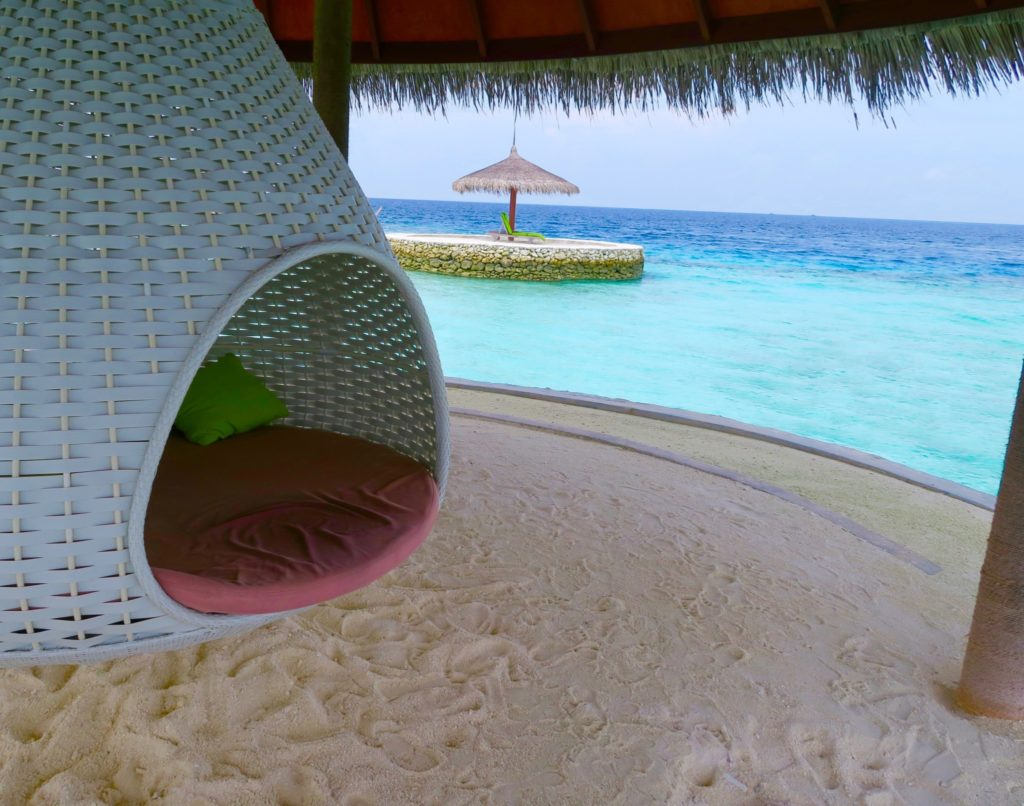 The perfect siesta spot, Anantara Veli Maldives