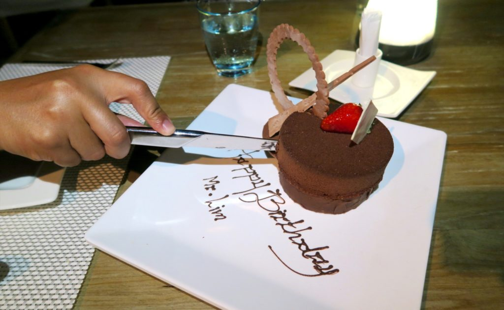 Zombie's birthday cake!! Thank you, Jumeirah Vittaveli!!