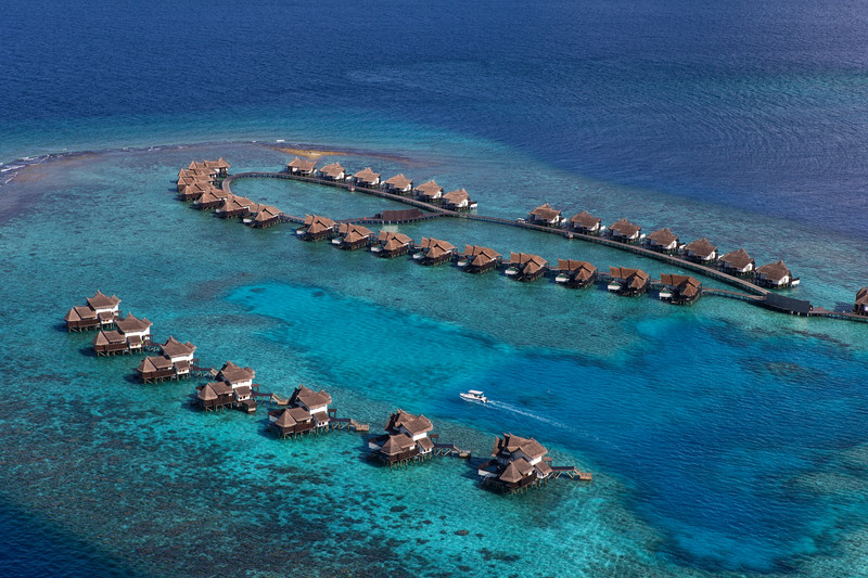 Jumeirah Vittaveli from above