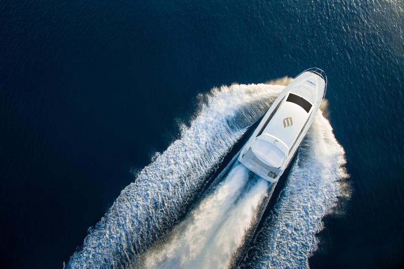 Jumeirah Vittaveli's brand new catamaran. Image from Jumeirah