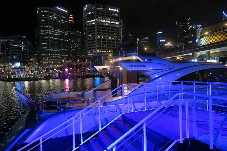 QR Darling Harbour Yacht