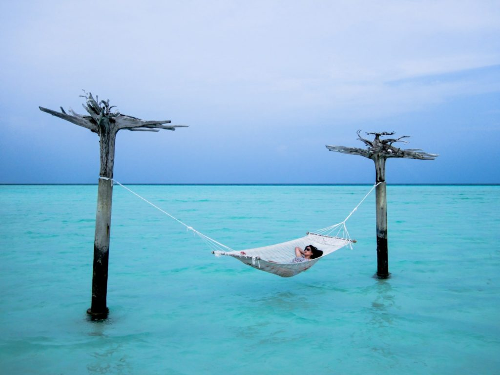 Found: The best siesta spot! Anantara Veli Maldives