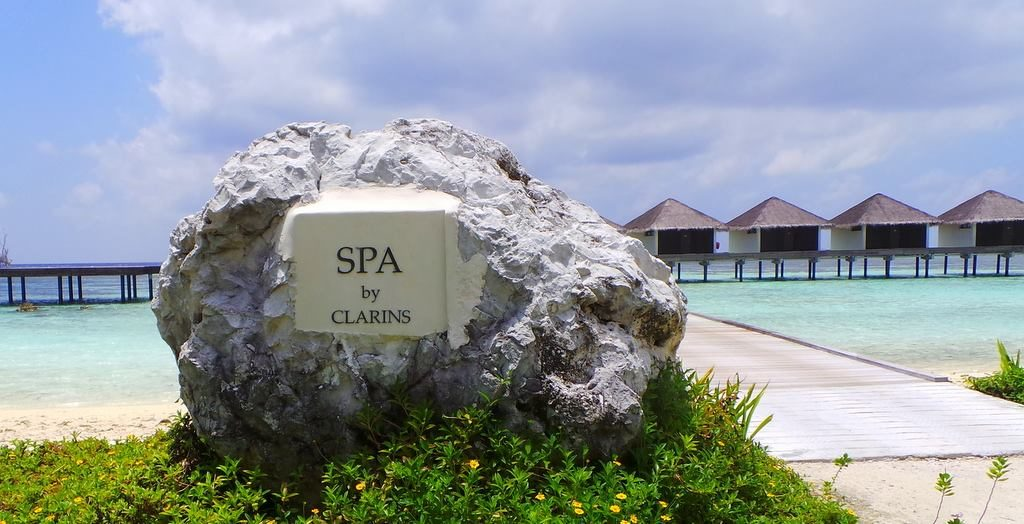 Clarins Spa. The Residence Maldives