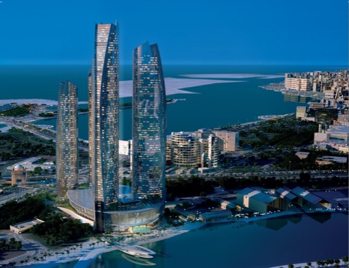 Etihad Towers. Photo from Etihad Towers site