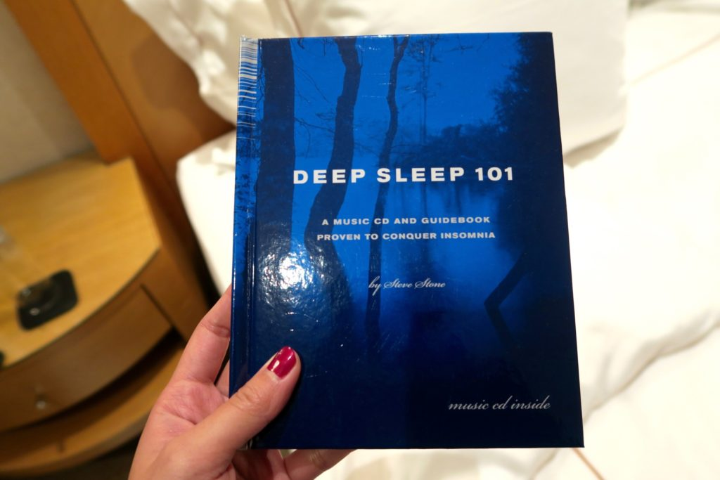 No problem for insomniacs! - Deep Sleep 101 Jumeirah Carlton Tower