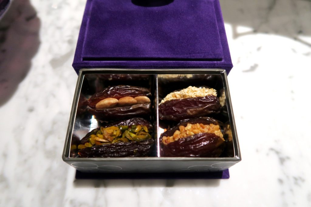 Luscious dates at Jumeirah at Etihad Towers