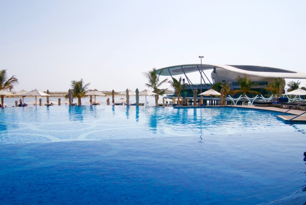 Pool at Jumeirah at Etihad Towers