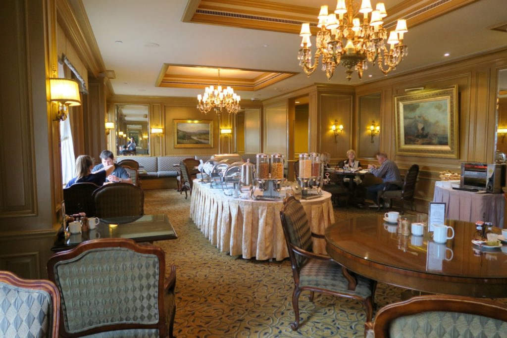 breakfast at The Dining Room, Sir Stamford Circular Quay