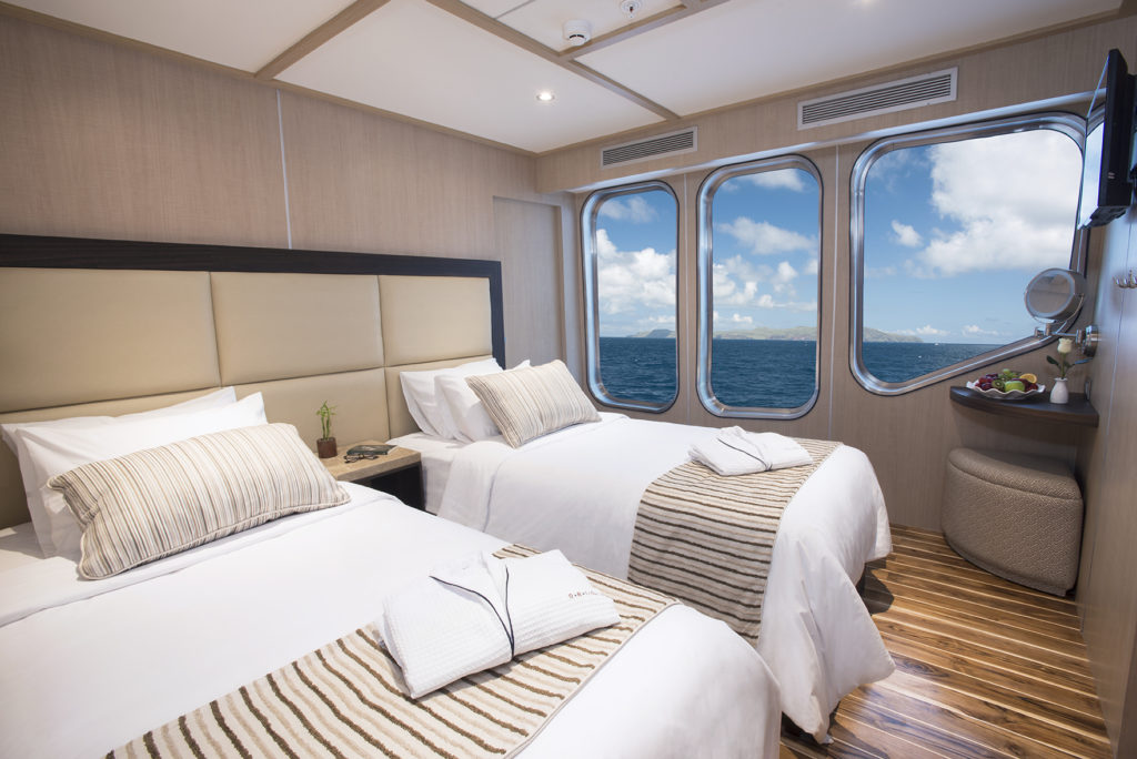 The new MV Origin Luxury Vessel by Ecoventura