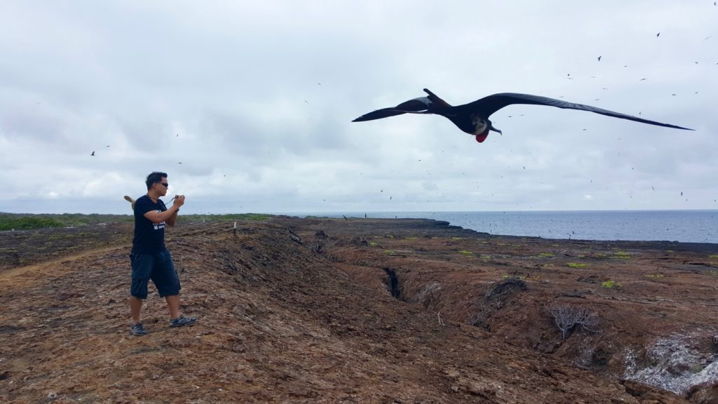 Exploring Genovesa Island in the Galapagos