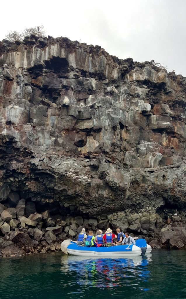 Our group about to explore Genovesa Island in the Galapagos