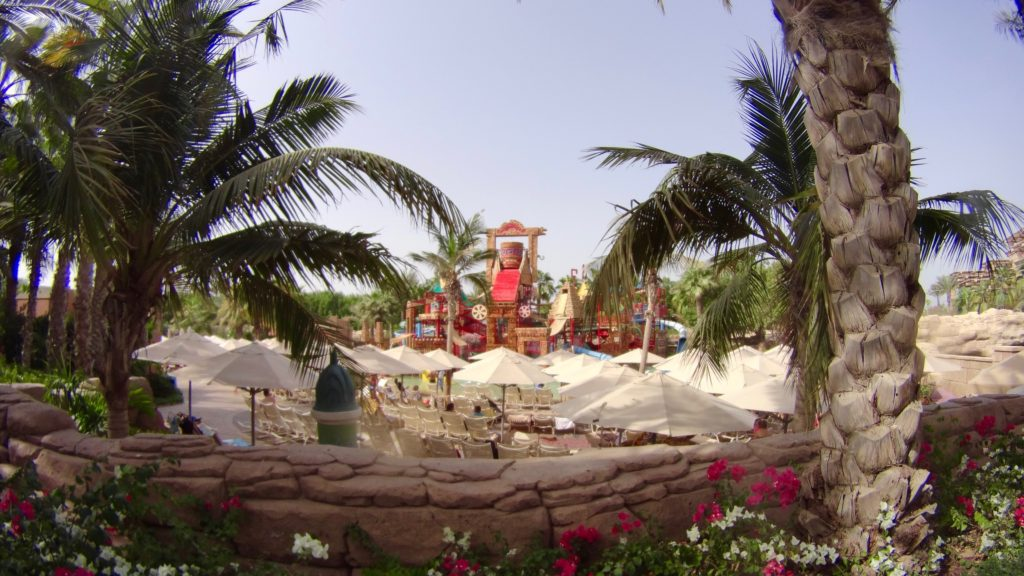 One of the kids' area in Aquaventure