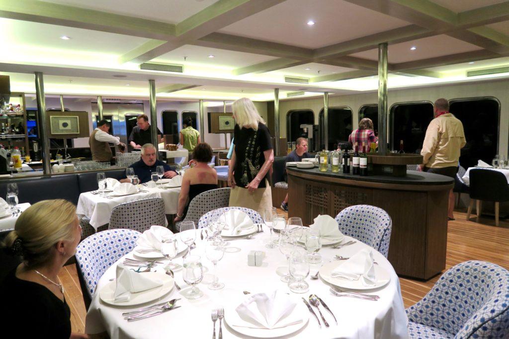 Dinnertime MV Origin Ecoventura