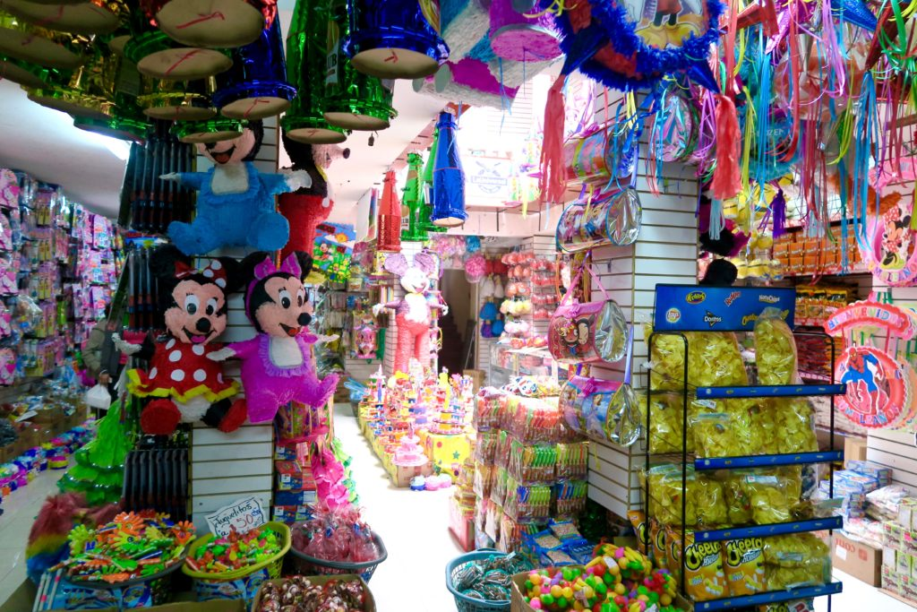 One of Quito's many, many sweets shop