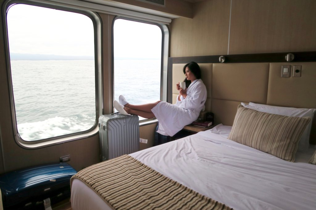 Stateroom on the MV Origin