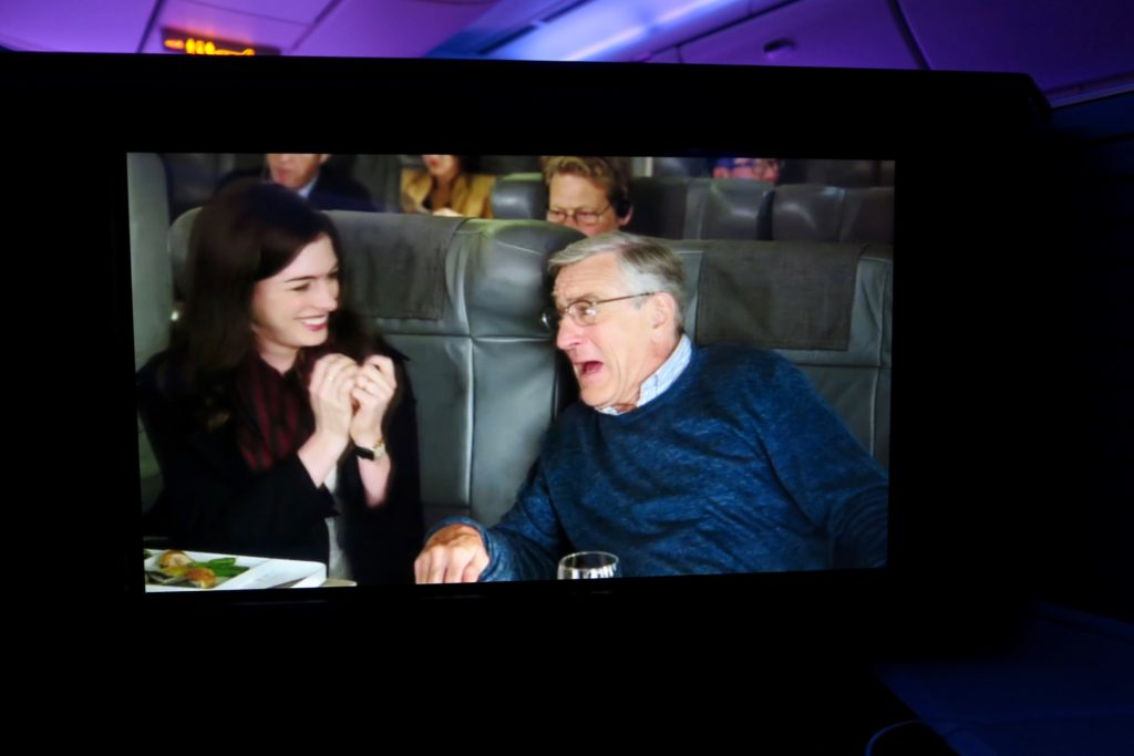 Movies onboard Virgin Australia Business Class Suites