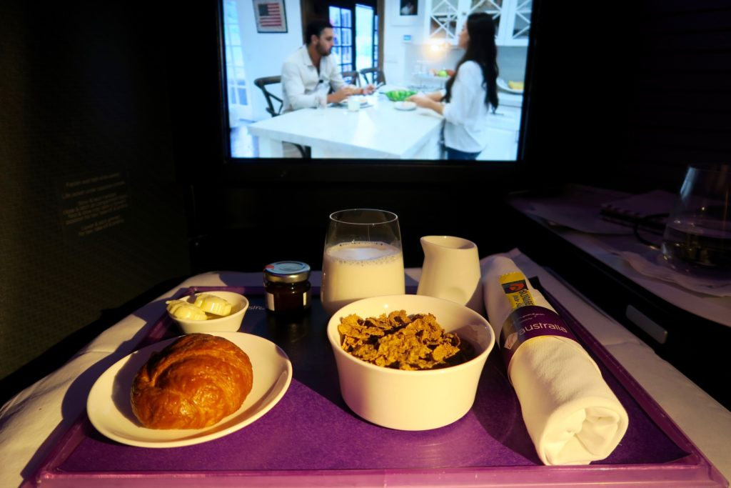Virgin Australia Breakfast Business Class VA 2