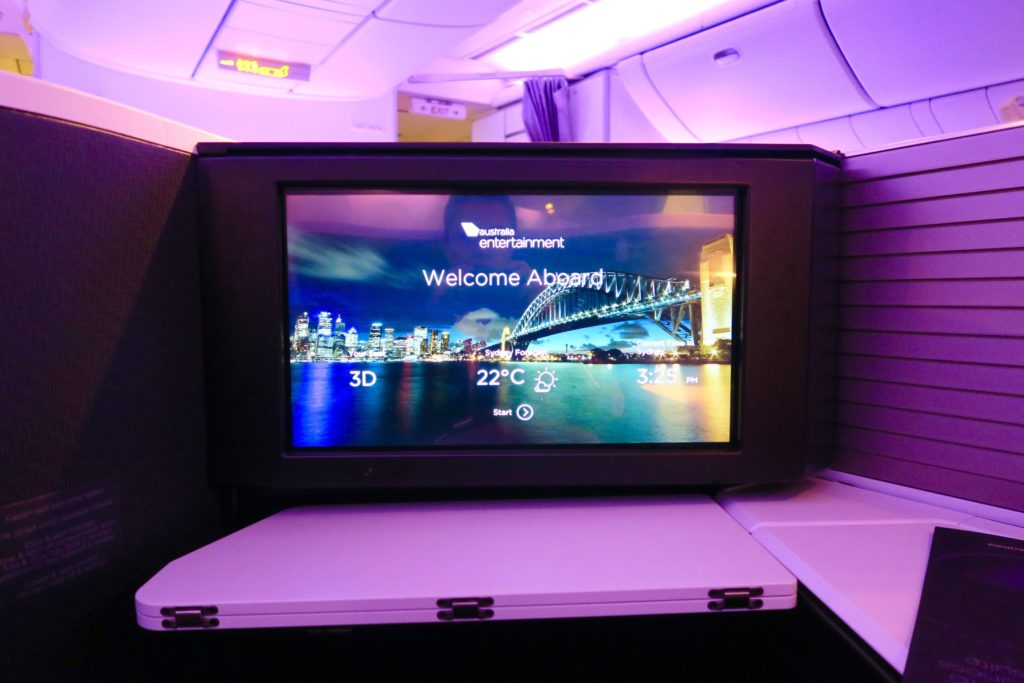 Virgin Australia Business Class Suites Va 2 Los Angeles to Sydney