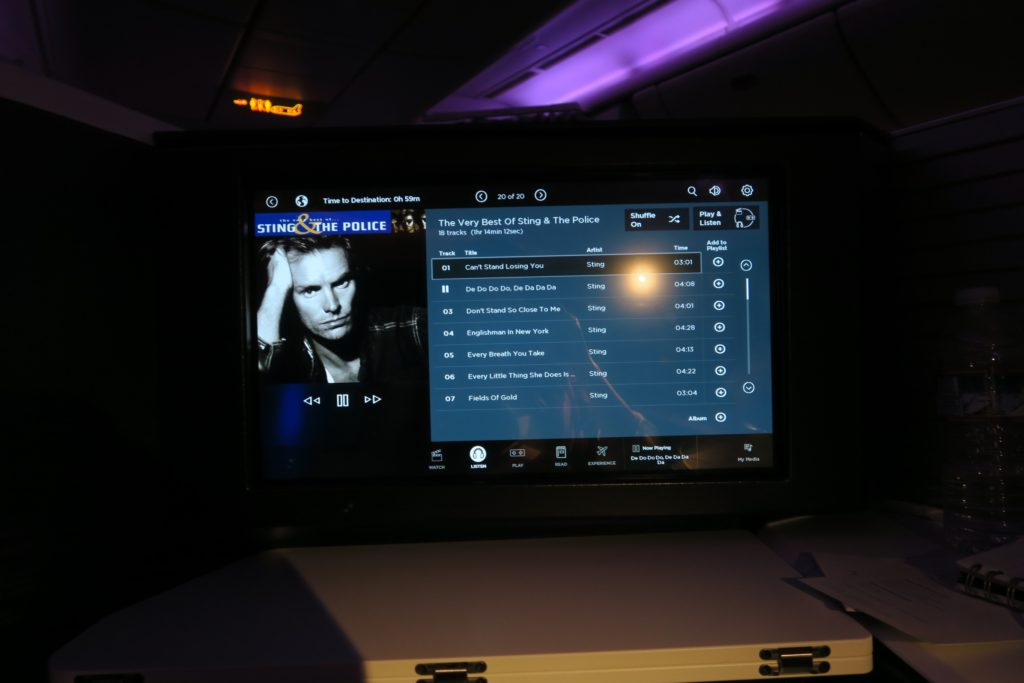 Virgin Australia Entertainment System Business Suites