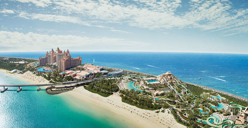 Aquaventure Water Park in Atlantis The Palm. Photo from Atlantis.com